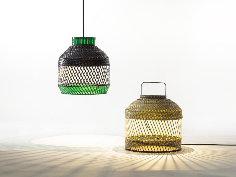 Ilc Verlichting 173lyp. Fabulous Excellent Staande Lamp Houten Voet ...